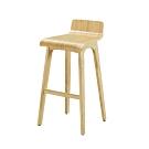 柏蒂家居-肯塔曲木吧台椅/高腳椅-40x42x84cm