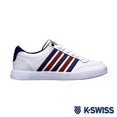 K-Swiss Court Lite CMF休閒運動鞋-女-白/藍/紅