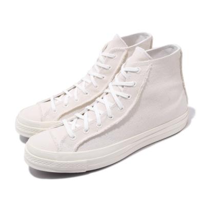Converse 休閒鞋 All Star 高筒 穿搭 男女鞋 基本款 帆布 簡約 RENEW 情侶鞋 米白 167749C