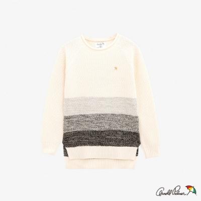 Arnold Palmer -女裝-漸層效果織紋線衫-白色