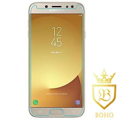 [BOHO]完全保護 鋼化玻璃保護貼 9H Samsung J7 Pro