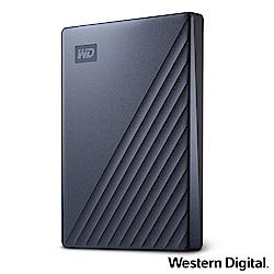 WD My Passport Ultra 2TB(星曜藍) 2.5吋USB-C行動硬碟