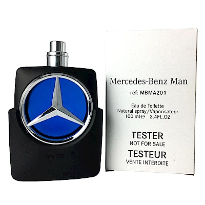 Mercedes Benz Star 賓士王者之星男性淡香水100ML TESTER