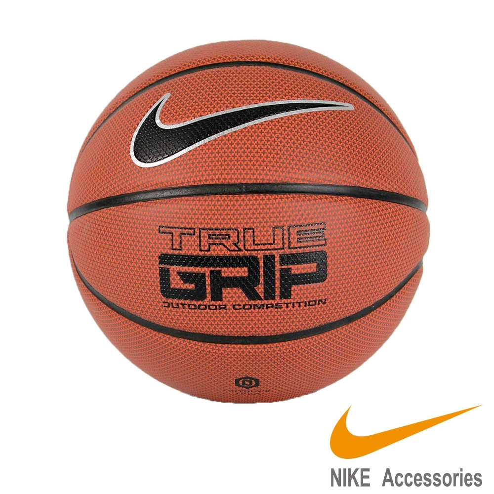 NIKE TRUE GRIP 6號 籃球 運動 健身 褐黑 NKI0785506