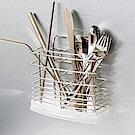 樂嫚妮 不鏽鋼餐具架/筷籠 無痕收納置物架