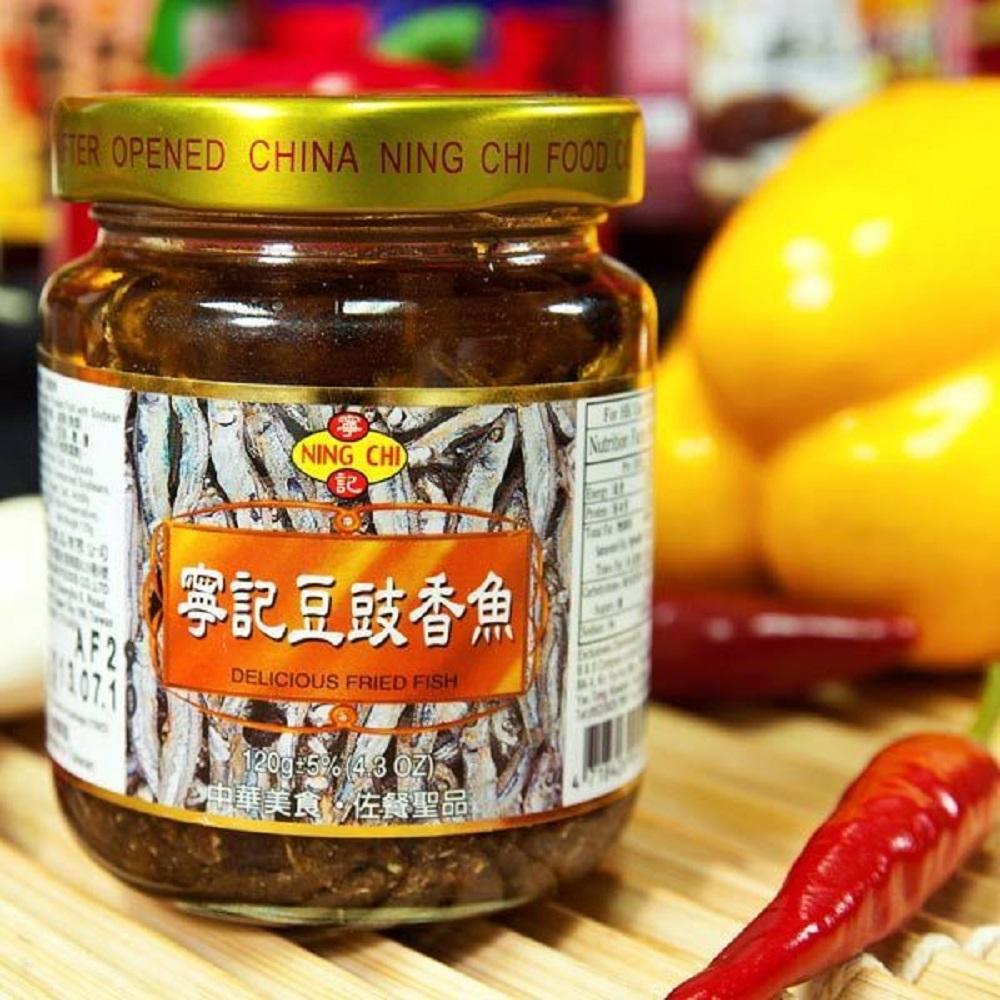 寧記 豆豉香魚 (120g/罐,共兩罐)