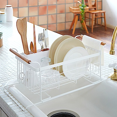 【YAMAZAK】tosca 伸縮式瀝水籃 碗盤架/置物架/收納架/瀝水籃