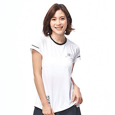 New Balance NB ICE 印花短袖上衣AWT81201WT_女_白