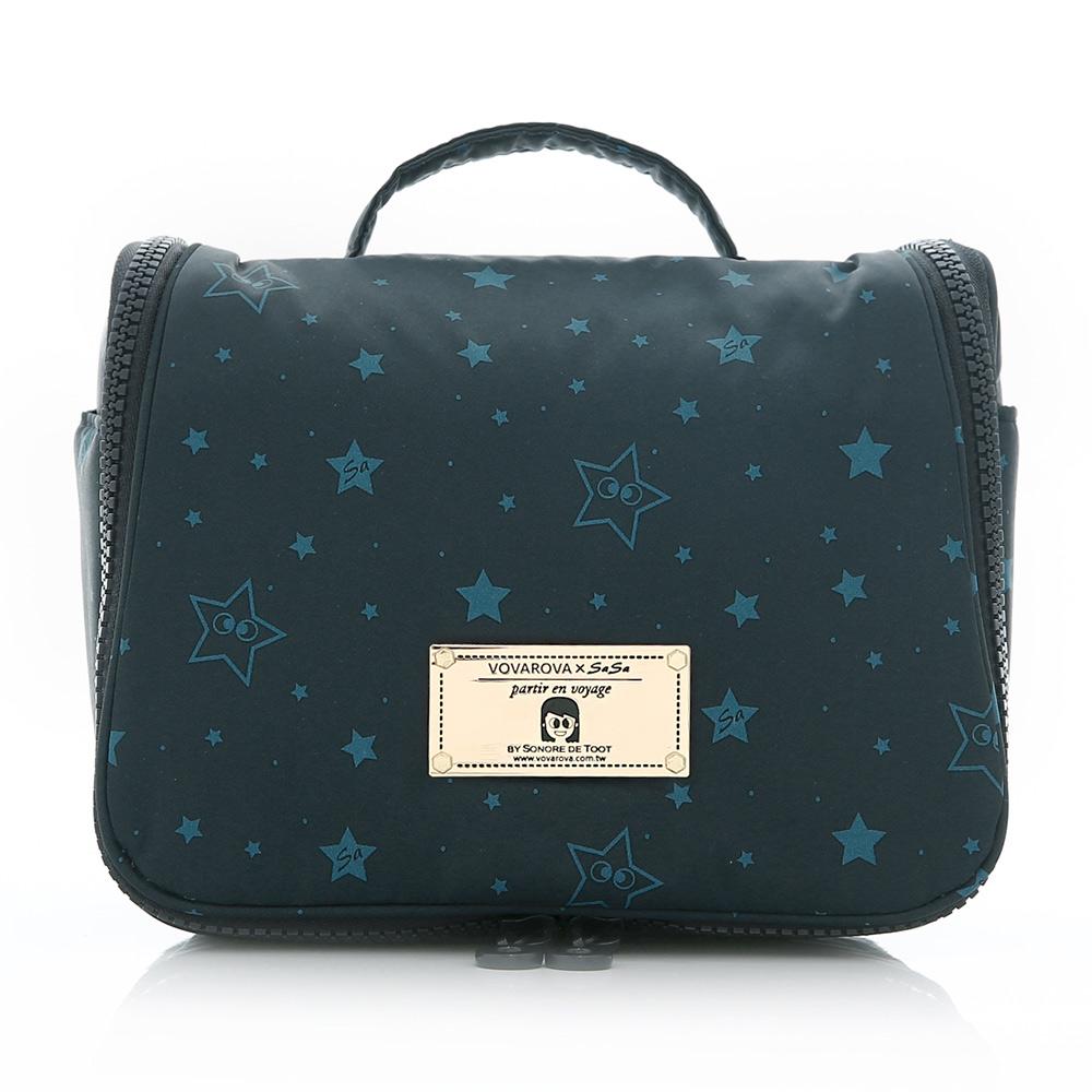VOVAROVA-旅行盥洗包plus-滿天星莎-環遊世界系列
