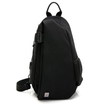 PLAYBOY- 單肩背包 Function系列-黑色
