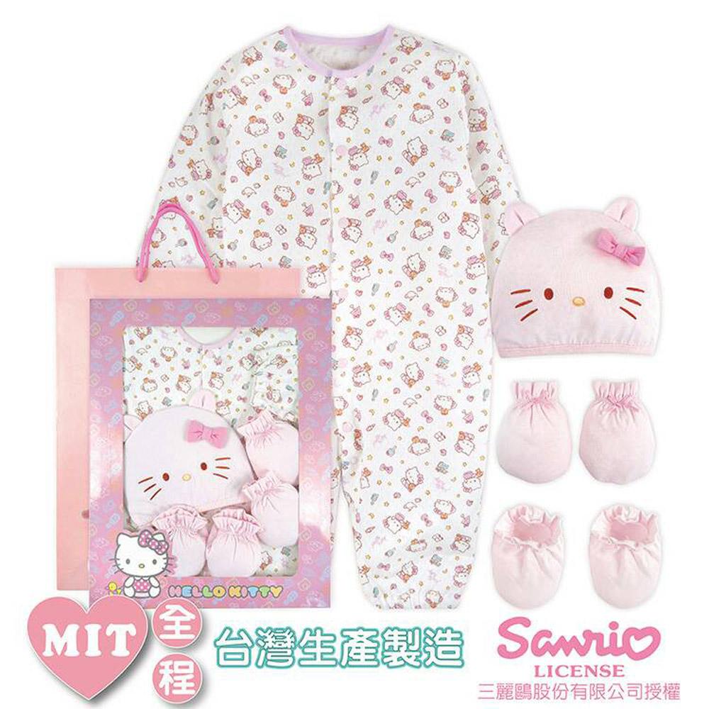 Hello Kitty 凱蒂貓 兩用衣彌月禮盒 KFS906P