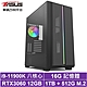 華碩Z590平台[黑羽岩龍]i9八核RTX3060獨顯電玩機 product thumbnail 1