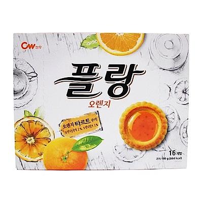 CW 果醬奶酥餅乾橘子風味(160g)