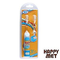 HAPPY MET 兒童教育型語音電動牙刷 (附替換刷頭X1) - 藍精靈款