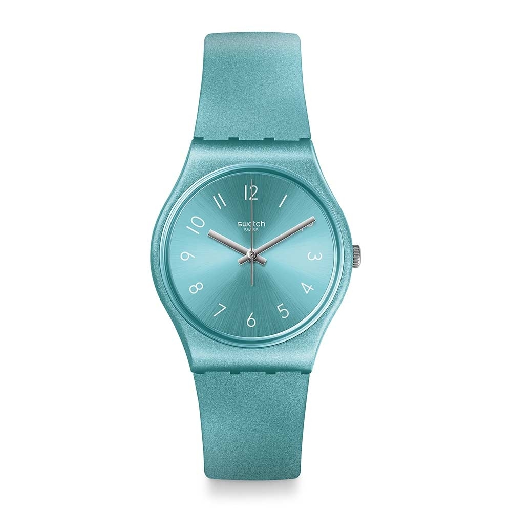 Swatch Bau 包浩斯系列手錶 SO BLUE 耀光亮藍 -34mm