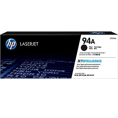 HP 94A 黑色原廠 LaserJet 碳粉匣 (CF294A)