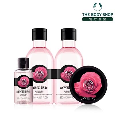 The Body Shop 馥郁玫瑰嫩膚沐浴組