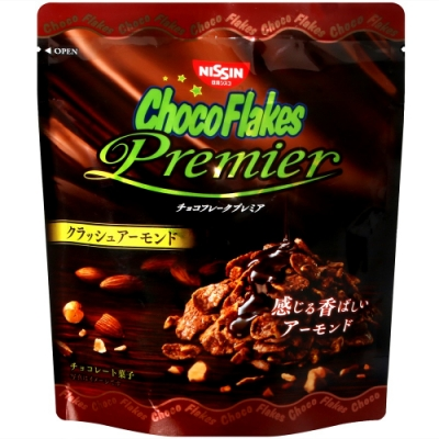 日清Cisco 巧克力風味玉米片-杏仁碎片(50g)