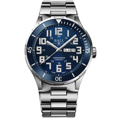 BALL 波爾錶 Roadmaster StarLight Ceramic機械腕錶 DM3050B-S11C-BE-43mm