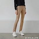 GIORDANO女裝中腰標準窄管休閒褲-80新薩哈拉
