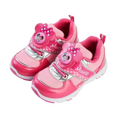 迪士尼童鞋 米妮 復古造型電燈休閒鞋