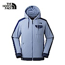 The North Face北面男款藍色防潑水保暖休閒外套|3GK14SL
