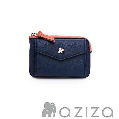 aziza CLARA鑰匙零錢包-藍