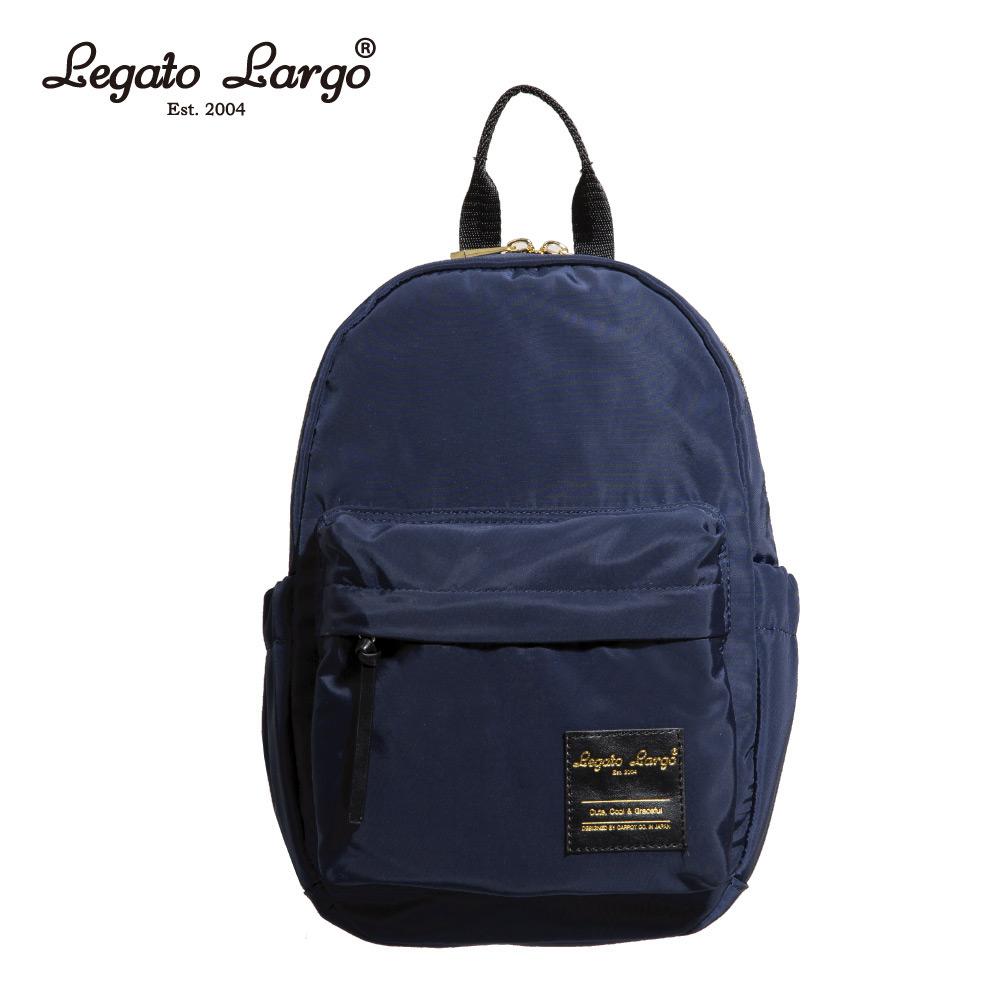 Legato Largo 輕巧迷你後背包-深藍 LT-M1001NV