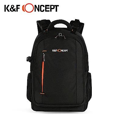 K&F Concept 背取全開式大容量雙單眼相機包 附防水罩(KF13.025)