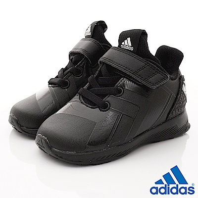 adidas童鞋 MARVEL聯名款 HTW458黑(小童段)