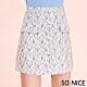 SO NICE優雅花形蕾絲口袋短裙 product thumbnail 1