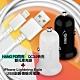 HANG H309 PD閃充QC3.0快充雙孔車充+iPhone 副廠充電線 product thumbnail 1