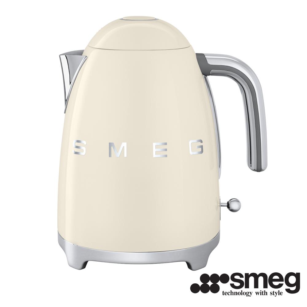 義大利SMEG  電熱水壺 -奶油色 KLF01CRTW