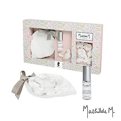 Mathilde M 法國瑪恩 伯爵夫人葉子盤香石香氛禮盒