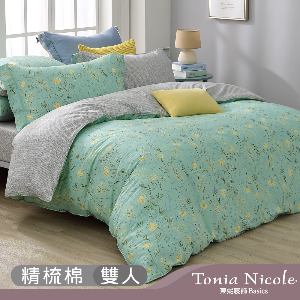 Tonia Nicole 東妮寢飾 100%精梳棉兩用被床包組(雙人任選) product image 1