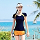 Biki比基尼妮,開朗少女學生泳衣二件式有加大泳衣(黃M-4XL) product thumbnail 1
