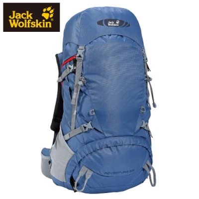 【Jack Wolfskin 飛狼】Adventure 登山背包 55L『藍色』