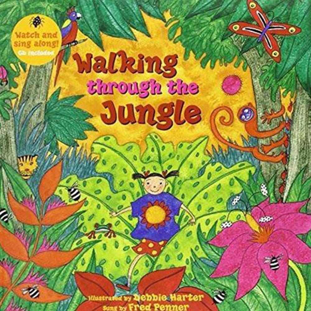 Walking Through The Jungle 勇闖大自然平裝繪本(CD一入)