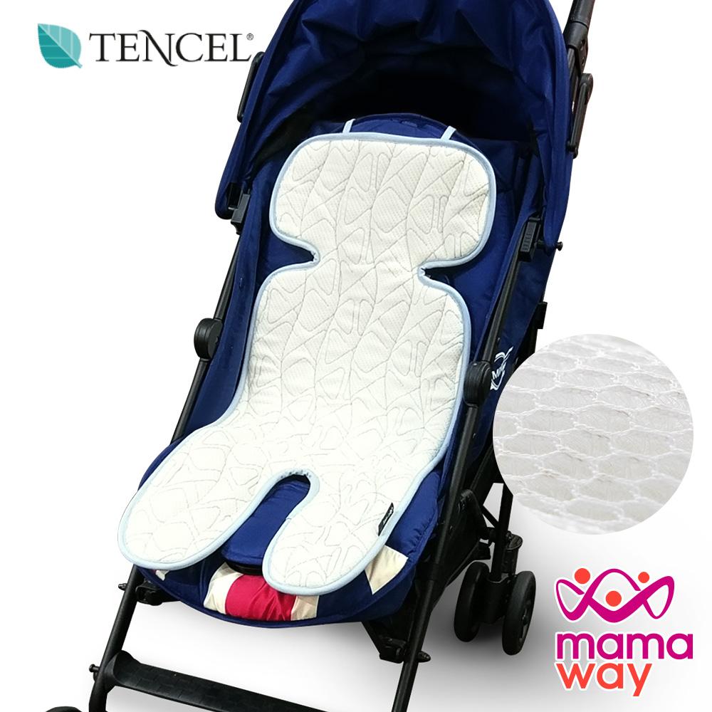 mamaway媽媽餵 氣墊調溫抗菌推車汽座通用坐墊(共兩色)