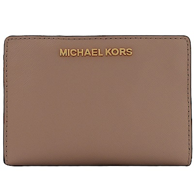 MICHAEL KORS JET SET對開扣式零錢短夾(裸)