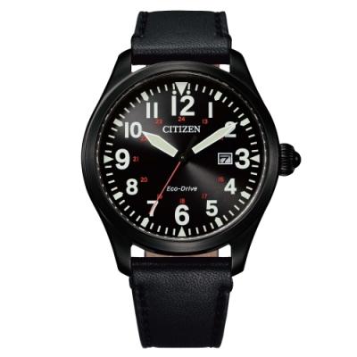 CITIZEN 飛行者三針光動能腕錶BM6835-23E