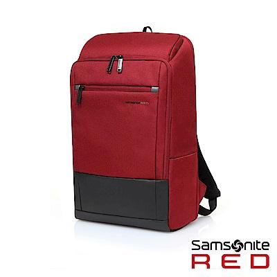Samsonite RED BREDLE 輕量流行筆電後背包15.6(紅)