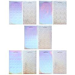 Livework 銀河系幾何雷射貼紙-五款組