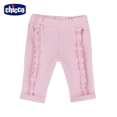 chicco-夢幻城市-荷葉剪接長褲