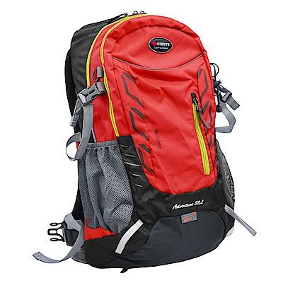 迪伯特DIBOTE 人體工學32L登山背包/登山包 (紅)