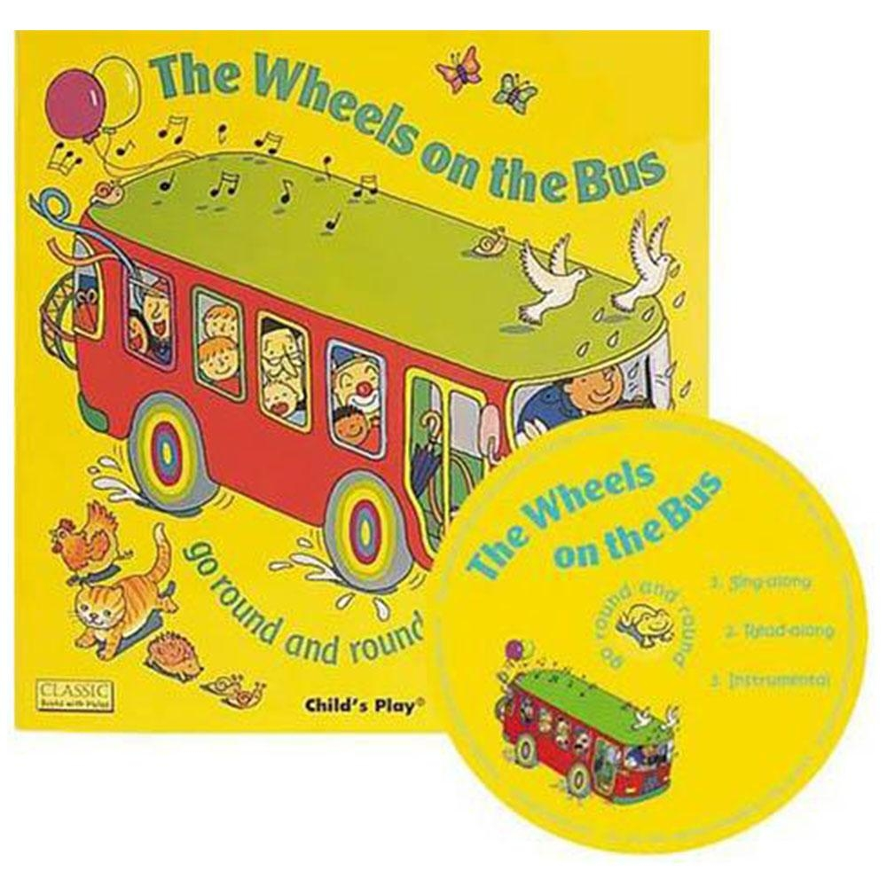 The Wheels On The Bus 公車趣事CD書