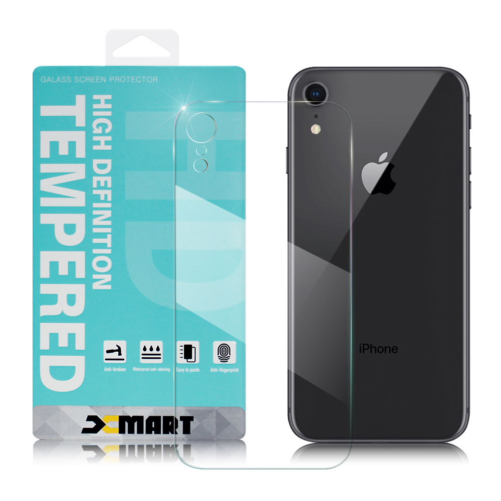 NISDA  for iPhone XR 6.1吋背面鋼化 9H 0.33mm玻璃螢幕貼