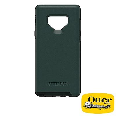 OtterBox Galaxy Note9炫彩幾何系列保護殼-文青綠