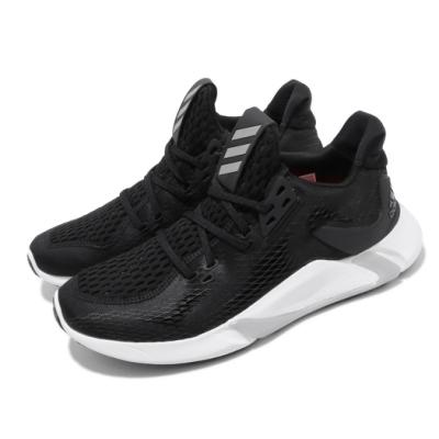 adidas 慢跑鞋 Edge XT Summer.RDY 男鞋 愛迪達 路跑 襪套式 緩震 球鞋穿搭 黑 白 EH3382