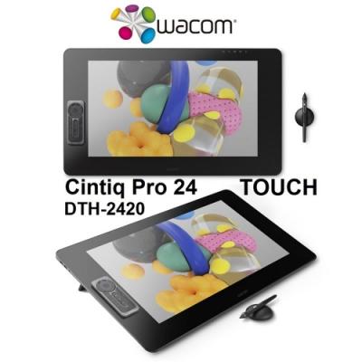 Wacom Cintiq Pro 24HD touch 專業液晶感壓繪圖板